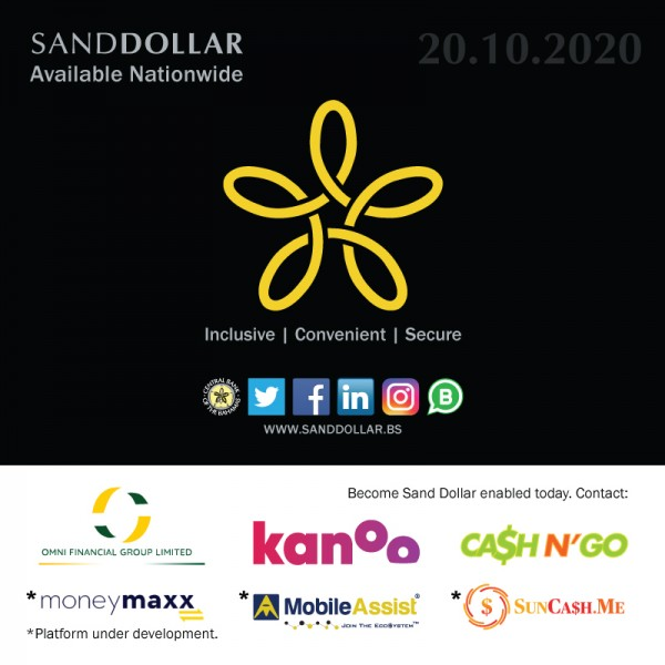 Sand Dollar Authorised Financial Institutions (AFI) - November 2020